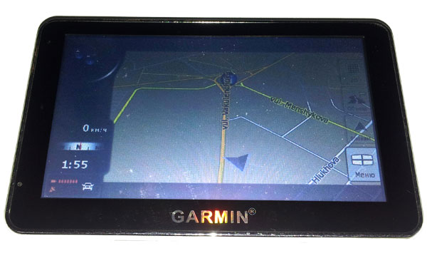 Китайская подделка навигатора Гармин